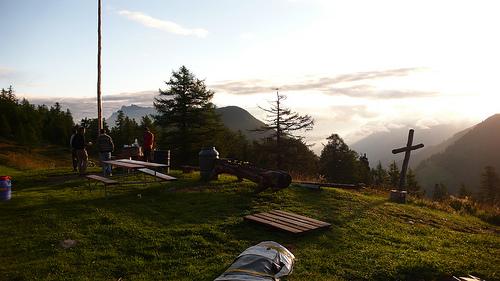 bon endroit pour camper
