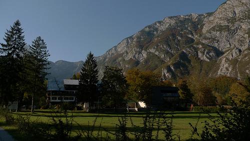 hotel dans la montagne en slovenie