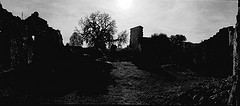 Oradour Sur Glane with a Noblex