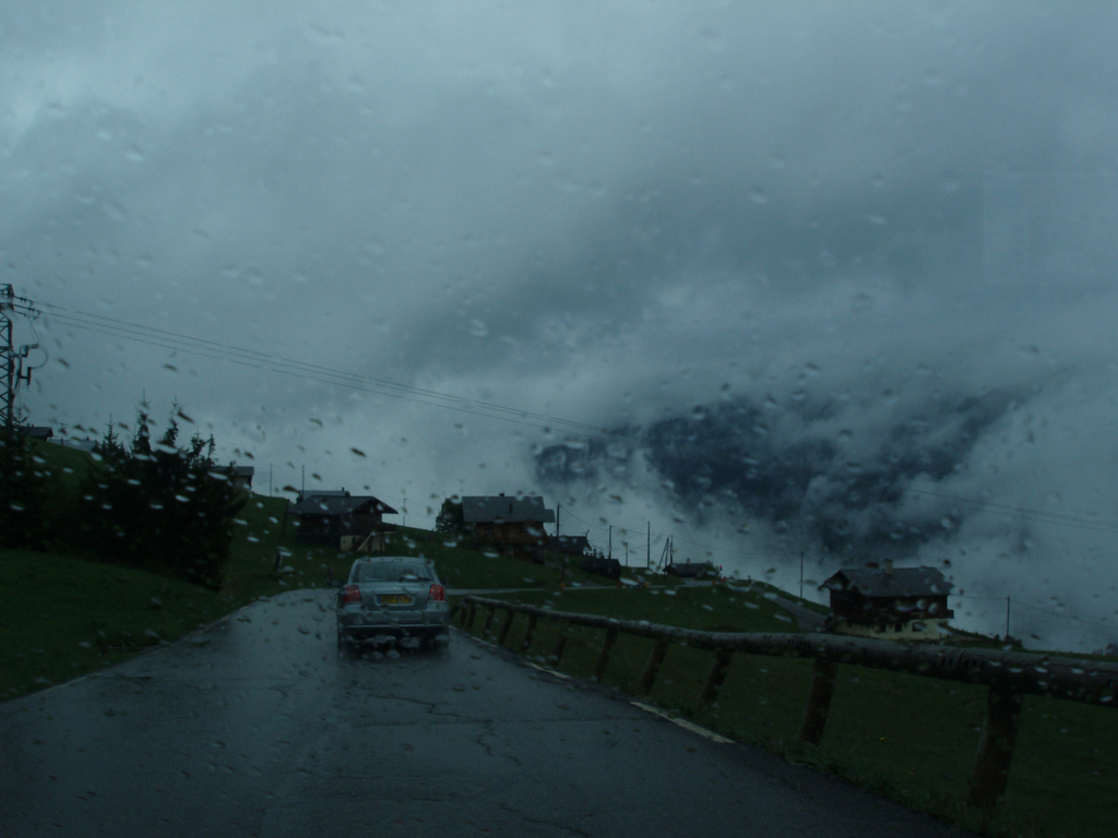 du brouillard et de la pluie