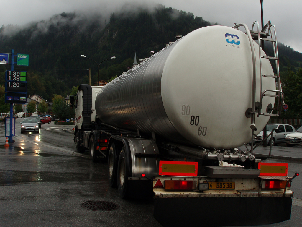un camion à beaufort