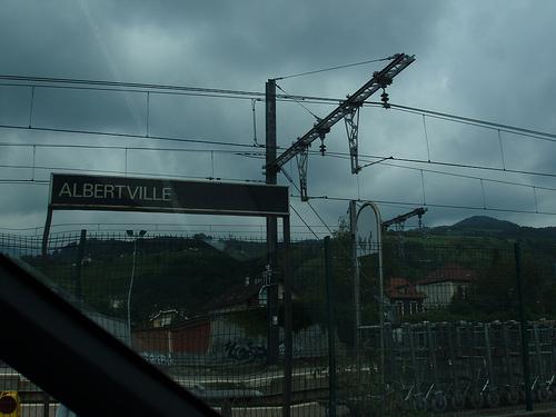 gare d'alberville