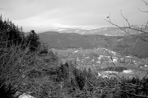 descente vers Saint-Agnan-en-Vercors