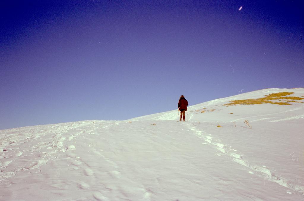 montée dans la neige