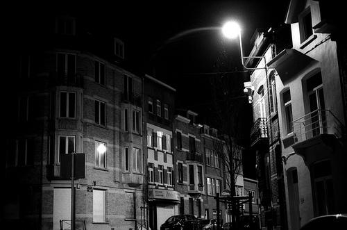 dans bruxelles la nuit