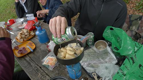 fondue a la biere