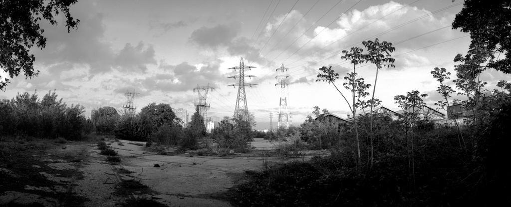 une zone un peu abandonnée