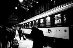 Gare d'Austelitz at night