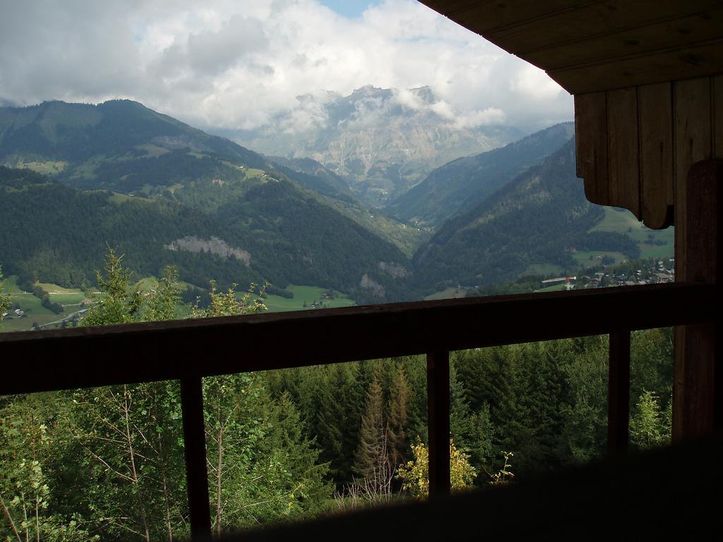 depuis le balcon tout en haut