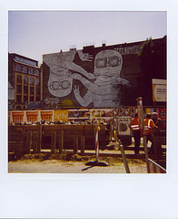 Berlin with a Polaroid