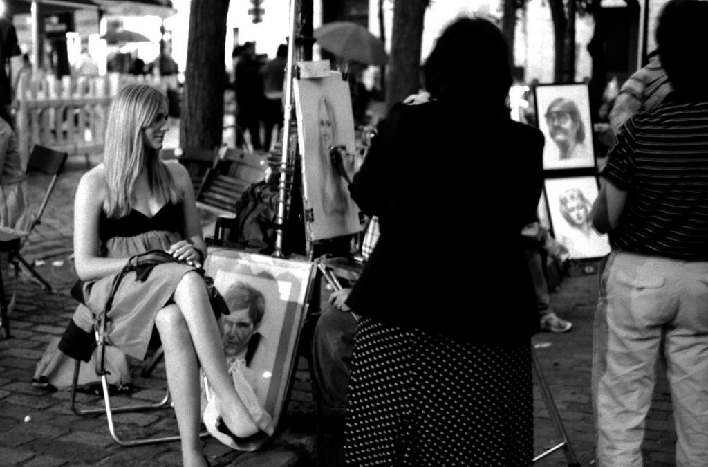 peintre de montmartre