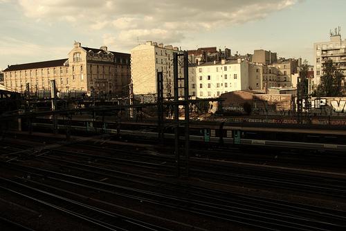 promenade gare du nord