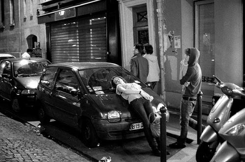 une voiture pour dormir