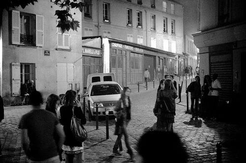 la nuit à paris