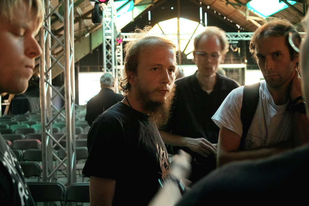 Gottfrid Svartholm (piratebay) at HAR2009