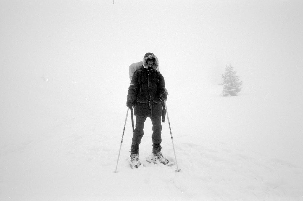 Jerome dans le brouillard