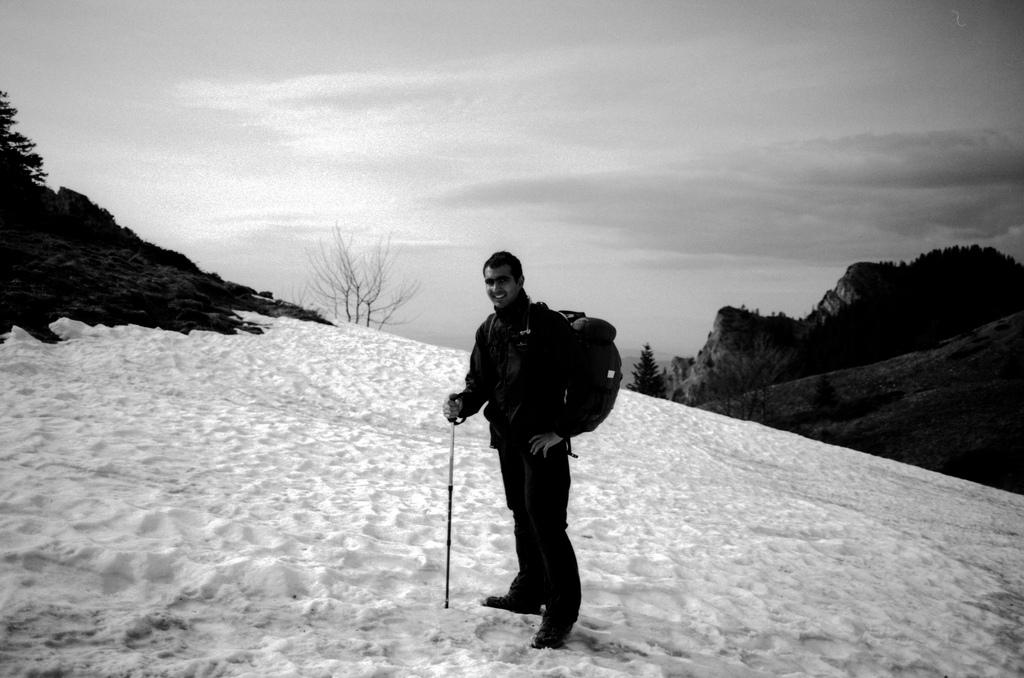 Bruno dans la neige