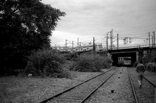 Un RER passe ...