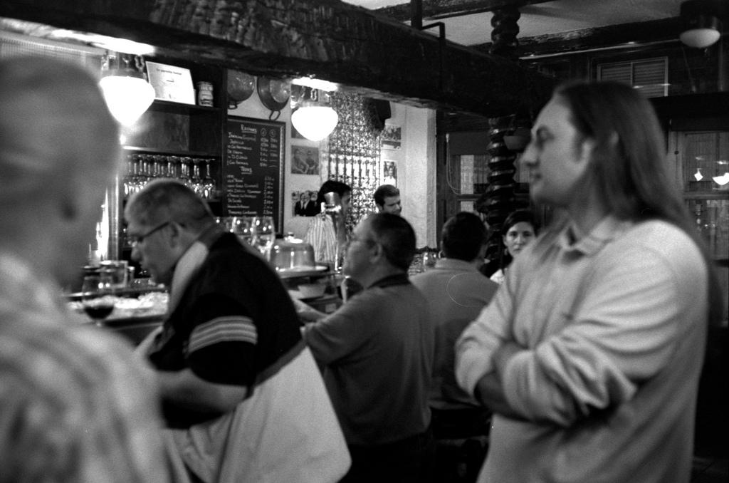 Tapas bar in Valladolid