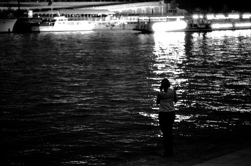 Near the Seine, in Paris