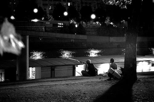 Paris - by the seine