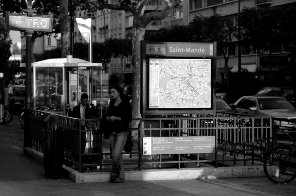 Metro Saint-Mandé