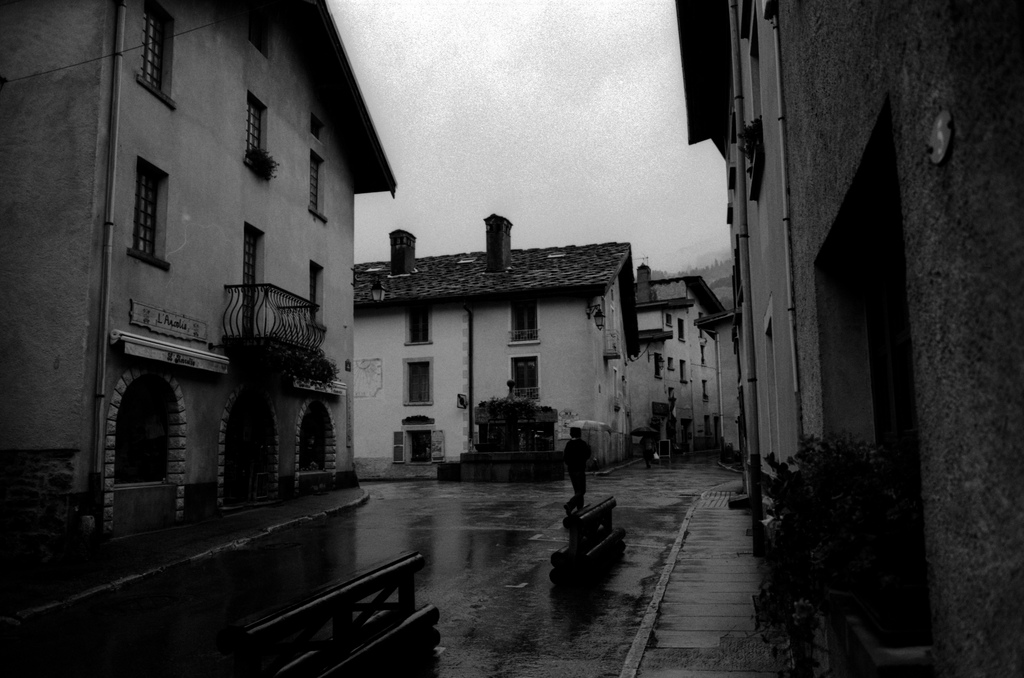 Aussois un jour de pluie