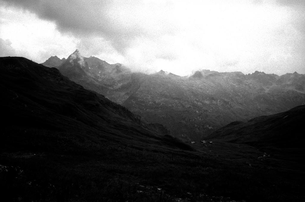 Orage dans la montagne