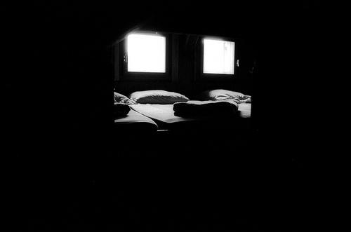 dortoir dans le refuge Moëde Anterne