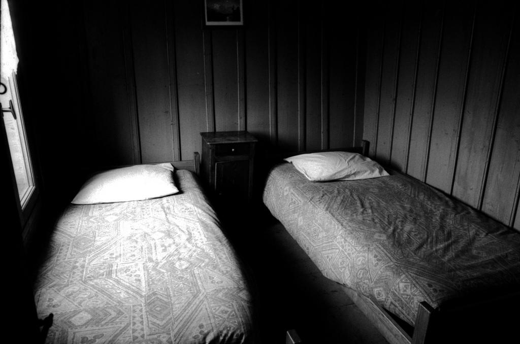 chambre dans le refuge Moëde Anterne