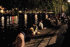 Near the river in Paris