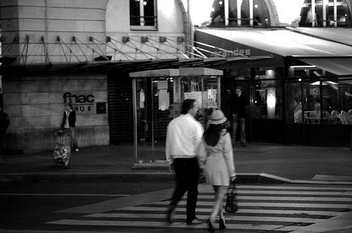 Paris - Passage pieton