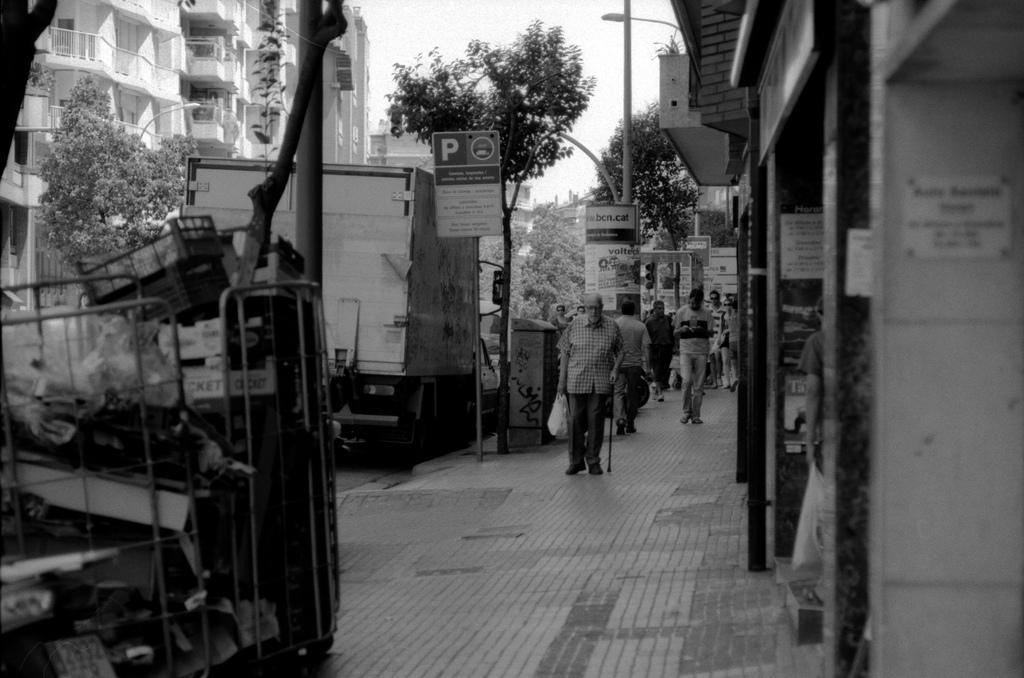 Barcelona - in the street
