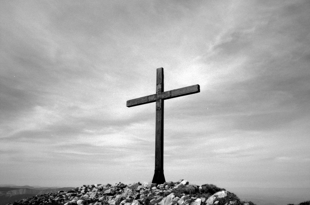 Cross at the summit