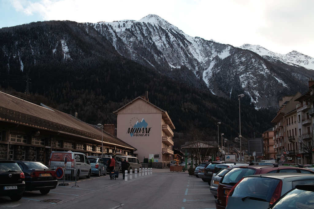 Modane Train station