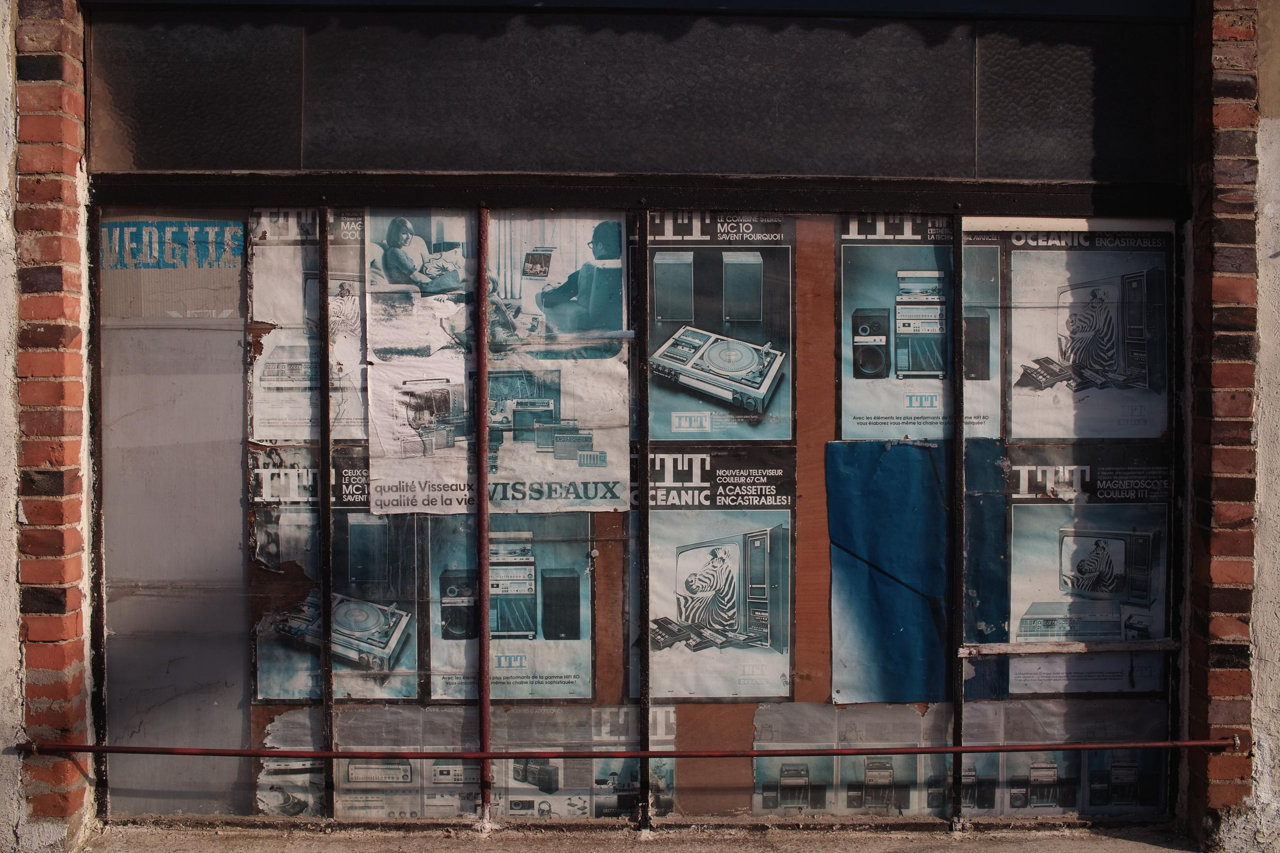 Photo 4536455854 Old Tv Shop # Tv Encastrable
