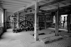 An abandoned ice factory in Berlin (Eisfabrik)