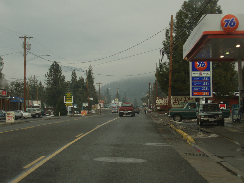 Small american city in Oregon