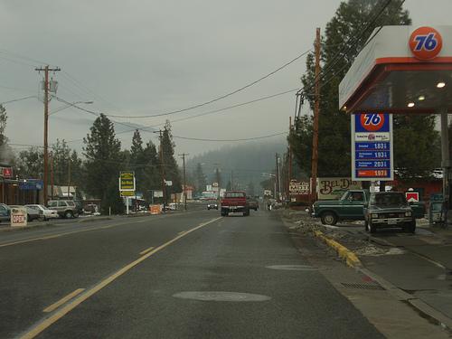 Small american city in Oregon