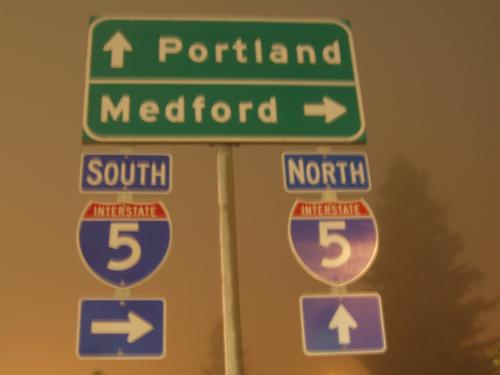 I-5 in Grants Pass