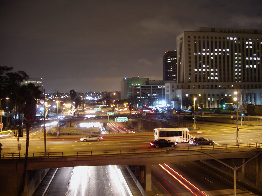 Los Angeles at night
