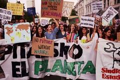 Manifestación huelga mundial por el clima, Madrid, 2019-09-27
