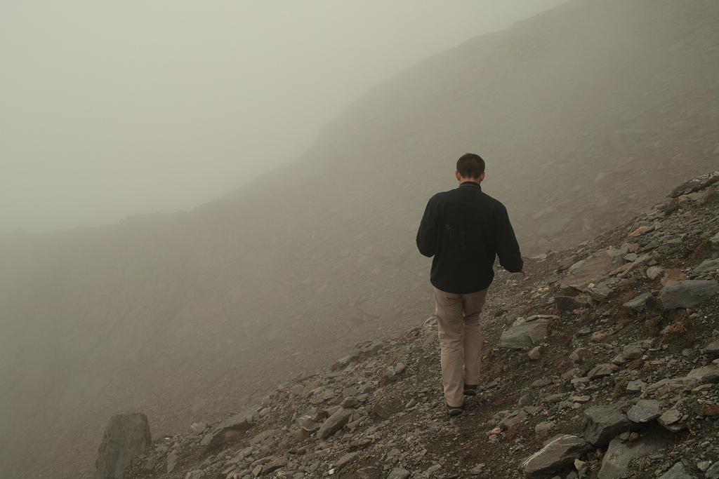 dans la montagne