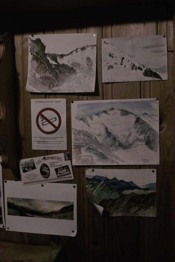 Refuge Plan Glacier