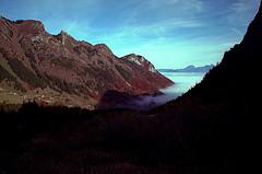 Lac de Lovenex in Switzerland