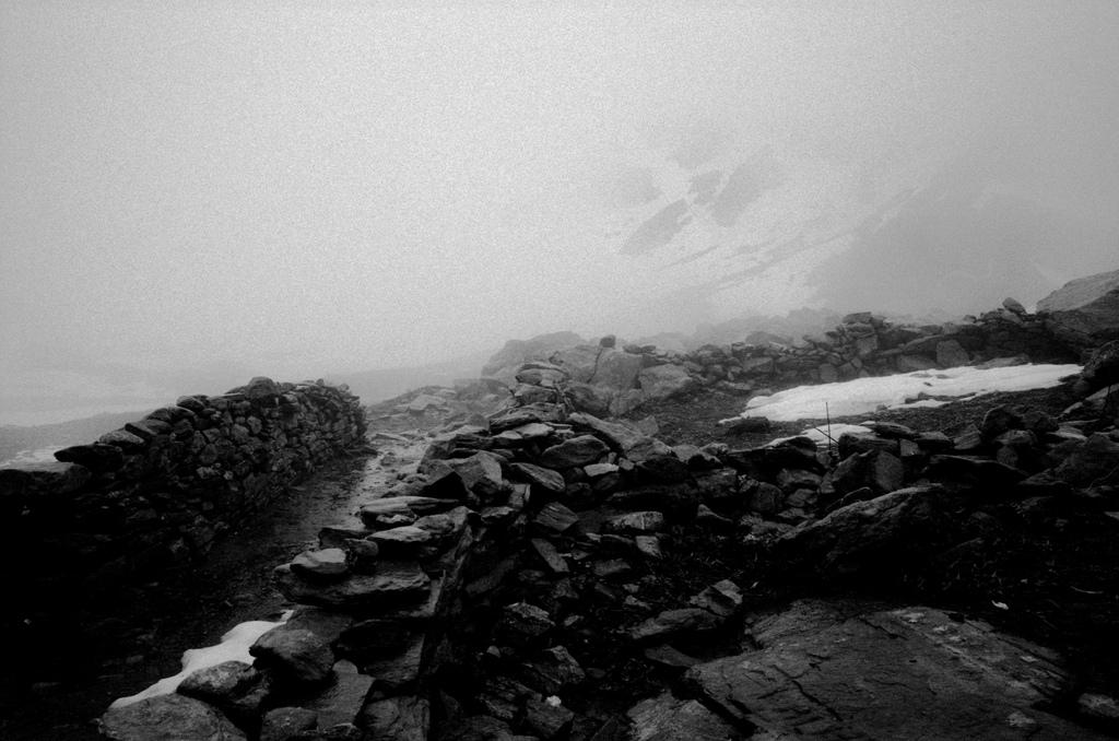 Un trou dans le brouillard