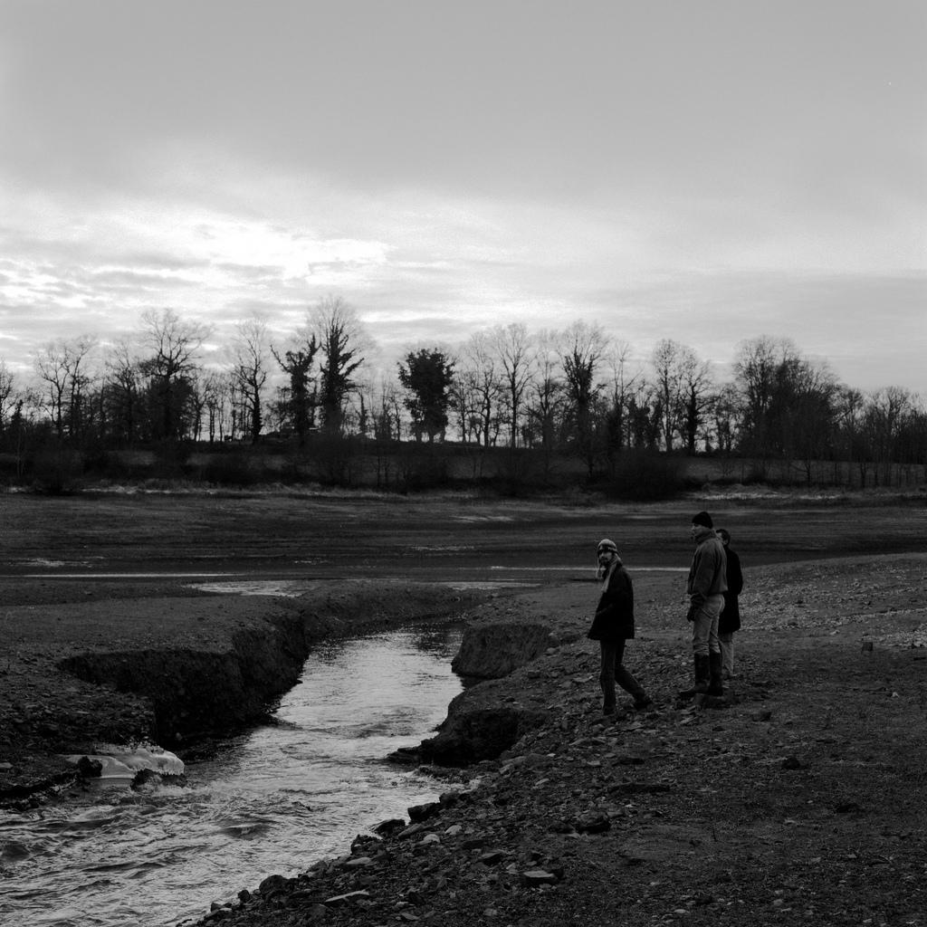 Un lac presque vide