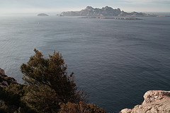 Calanques in Marseille