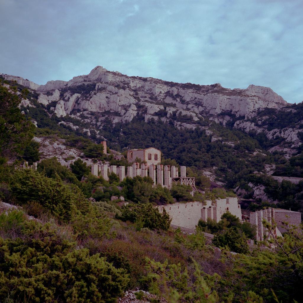 Ruines pres de Marseille