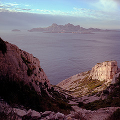 Calanques between Marseille and Cassis